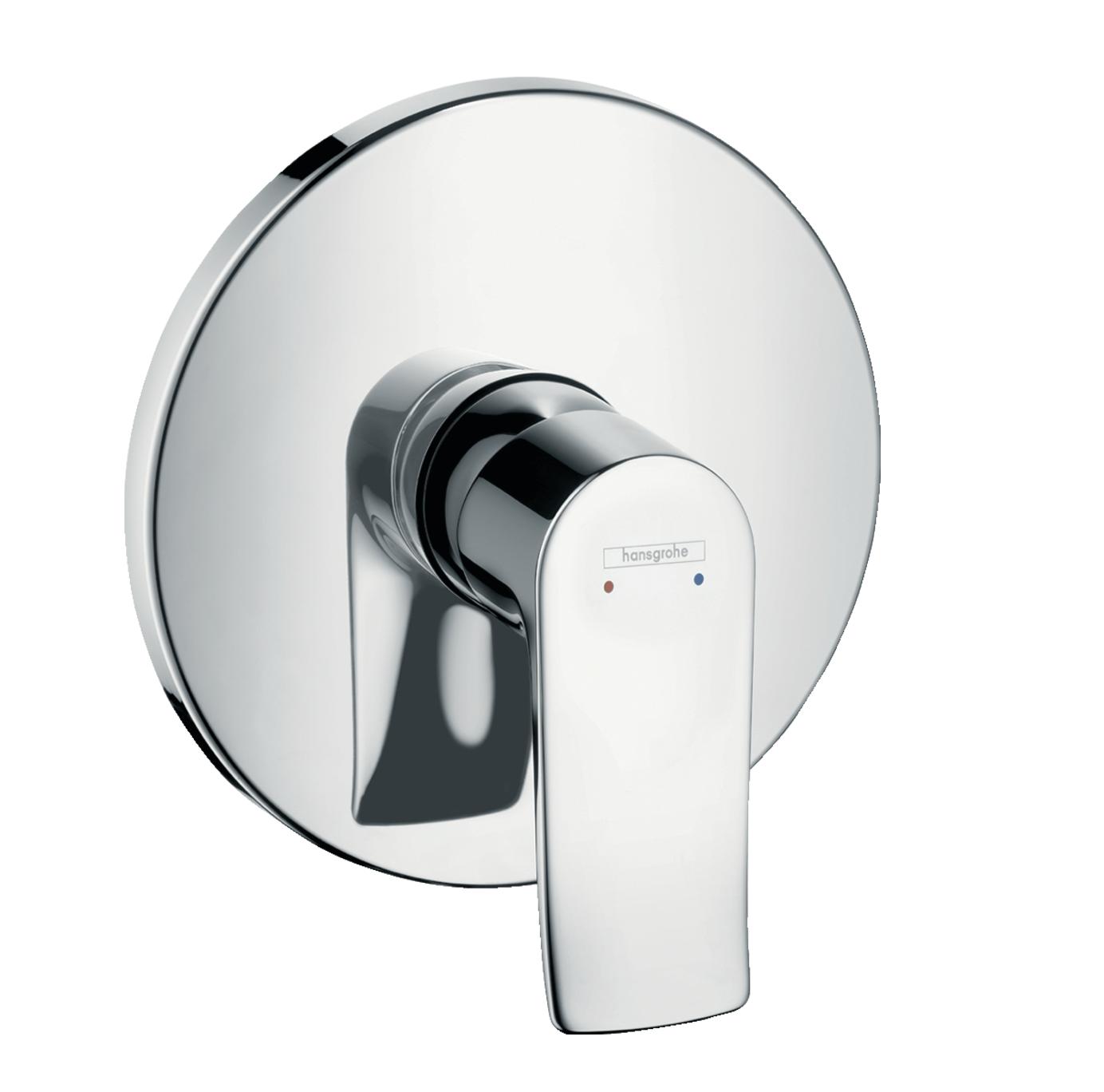 Set de finition pour mitigeur de douche encastré haut débit Hansgrohe Metris