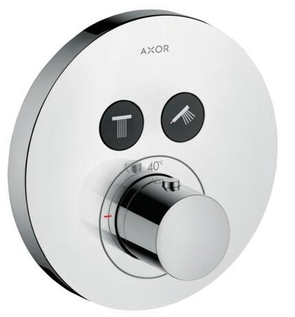 Set de finition pour mitigeur thermostatique encastré AXOR ShowerSelect