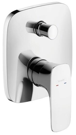 Set de finition pour mitigeur de bain / douche encastré Hansgrohe PuraVida