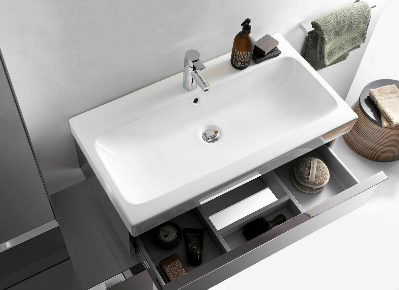Plan-vasque Geberit iCon 90 cm
