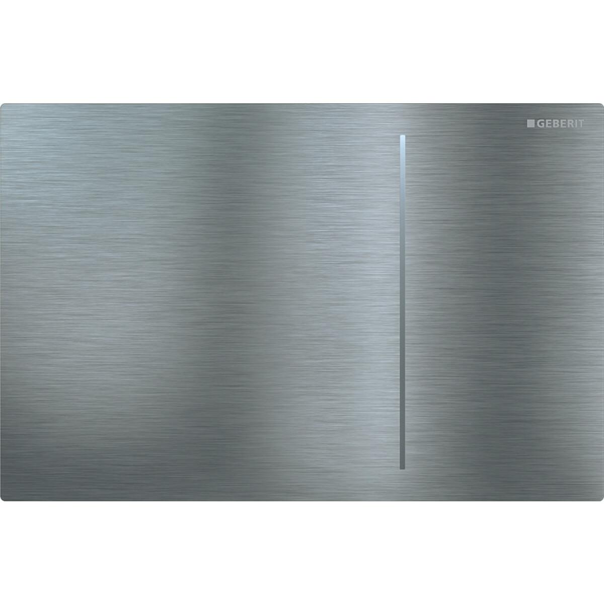 Plaque de déclenchement Geberit Sigma70 pour réservoir à encastrer Sigma 12 cm / Acier inoxydable brossé