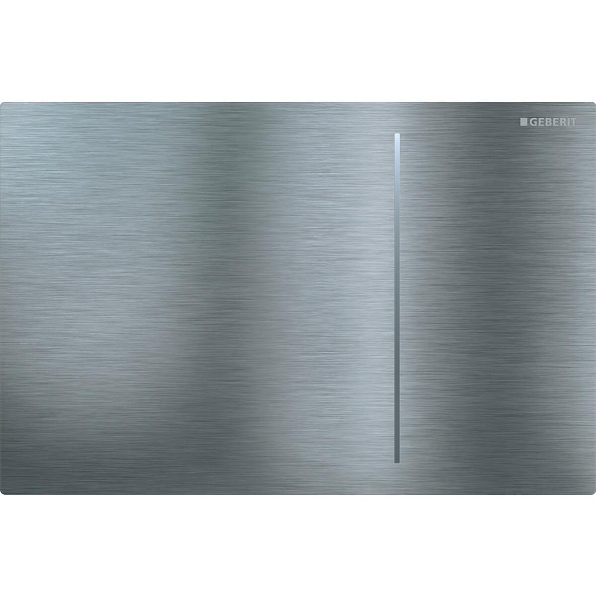Plaque de déclenchement Geberit Sigma70 pour réservoir à encastrer Sigma 8 cm / Acier inoxydable brossé
