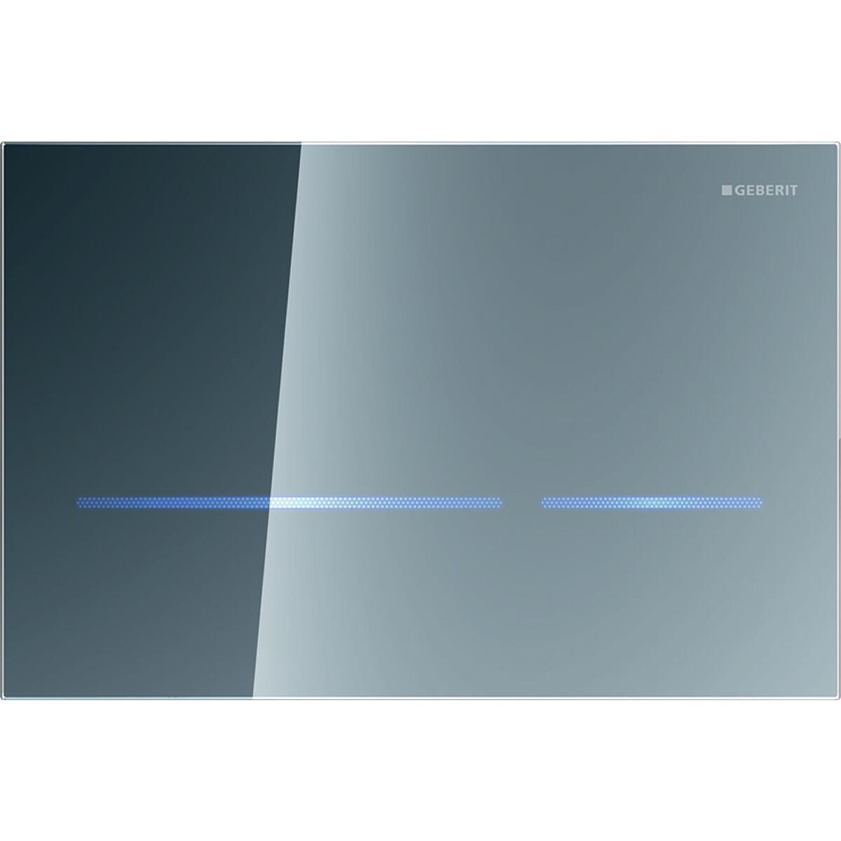 Plaque de déclenchement infrarouge Geberit Sigma80 / Verre réfléchissant