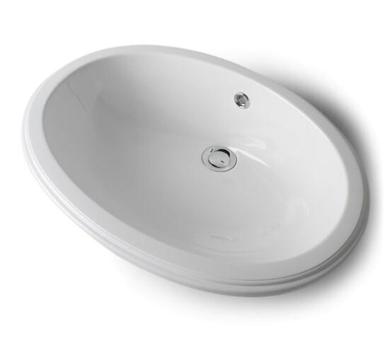 Vasque encastrable Ellipse 53 cm
