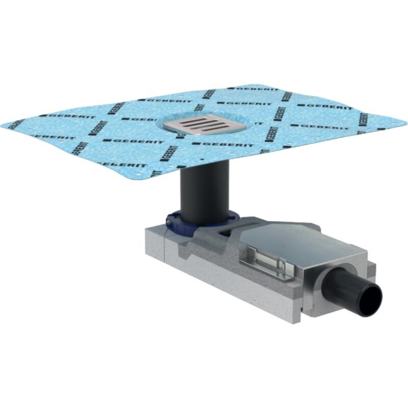 Siphon de sol : set d'installation + grille design