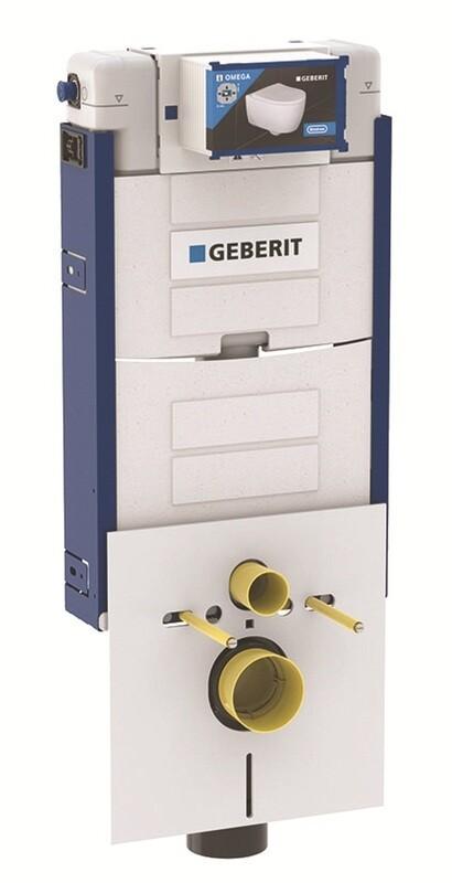 Bâti-support Geberit Combifix Omega 12 cm (hauteur : 106 cm), pour montage dans parois maçonnées