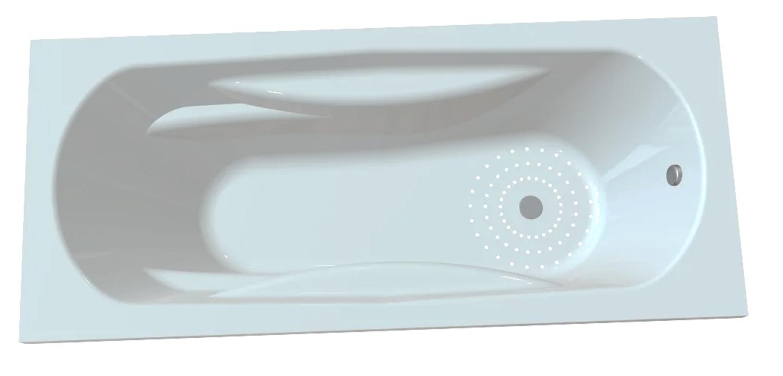 Baignoire Relax hydromassage simple 170 x 75 cm