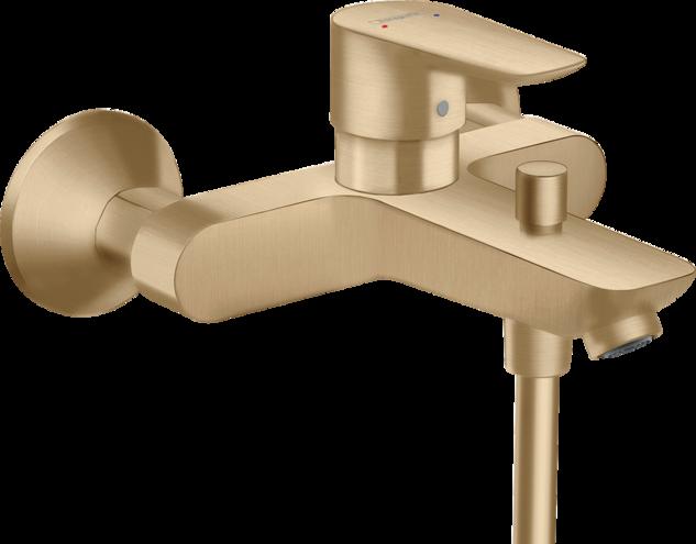 Mitigeur de bain / douche Hansgrohe Talis E en bronze brossé
