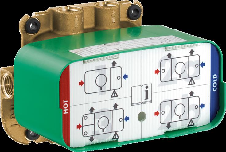 Corps d'encastrement pour module thermostatique Axor One