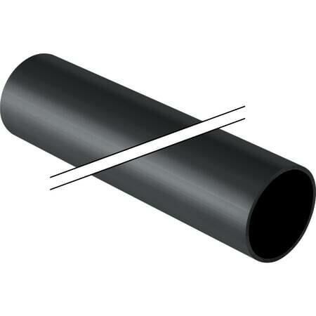 Tube Geberit PEHD : d=63mm / Achat par multiple de 5 mètres