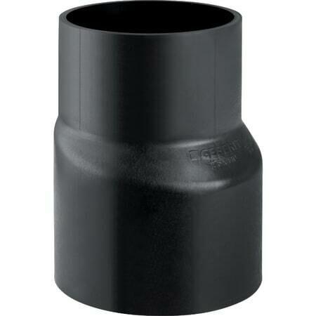 Réduction excentrique Geberit PEHD, longue : d=200mm, d1=125mm