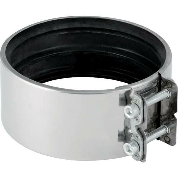 Raccord de serrage de transition Geberit : d=75-76mm, d1=75-76mm