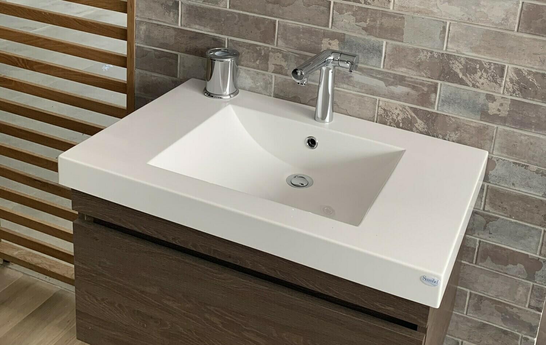 Plan-vasque Spazio 80 cm