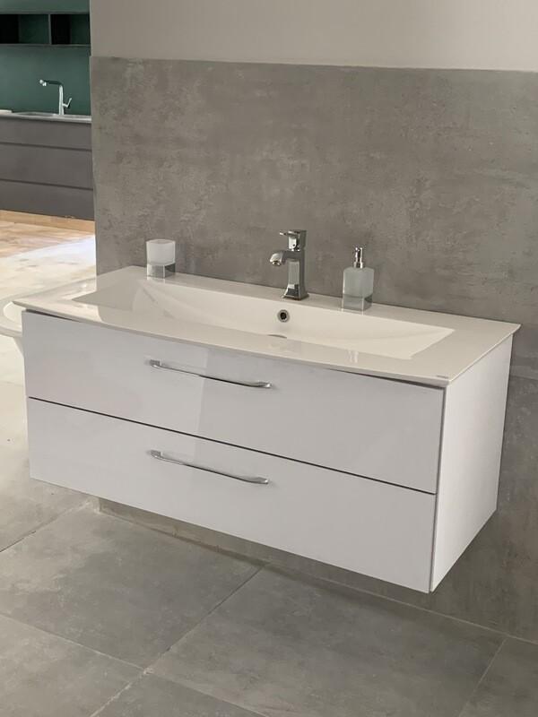 Plan-vasque Lido 122 cm  avec meuble