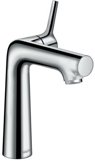 Mitigeur de lavabo Hansgrohe Talis S 140  CoolStart en laiton chromé avec tirette et vidage