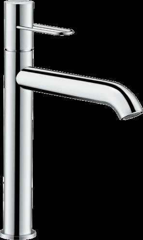 Mitigeur de lavabo AXOR Uno 200 poignée étrier avec bande à écoulement libre