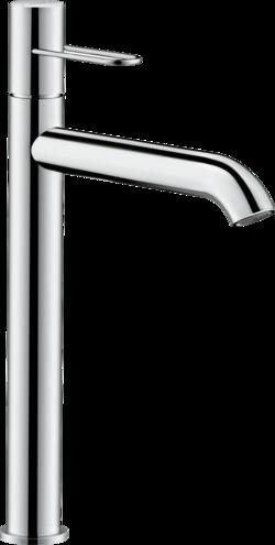 Mitigeur de lavabo AXOR Uno 250 poignée étrier avec bonde à écoulement libre
