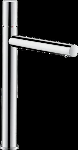 Mitigeur de lavabo AXOR Uno 260 poignée zéro avec bande à écoulement libre