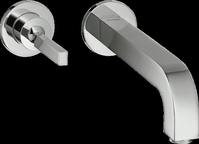 Mitigeur de lavabo encastré AXOR Citterio 225 mm en laiton chromé