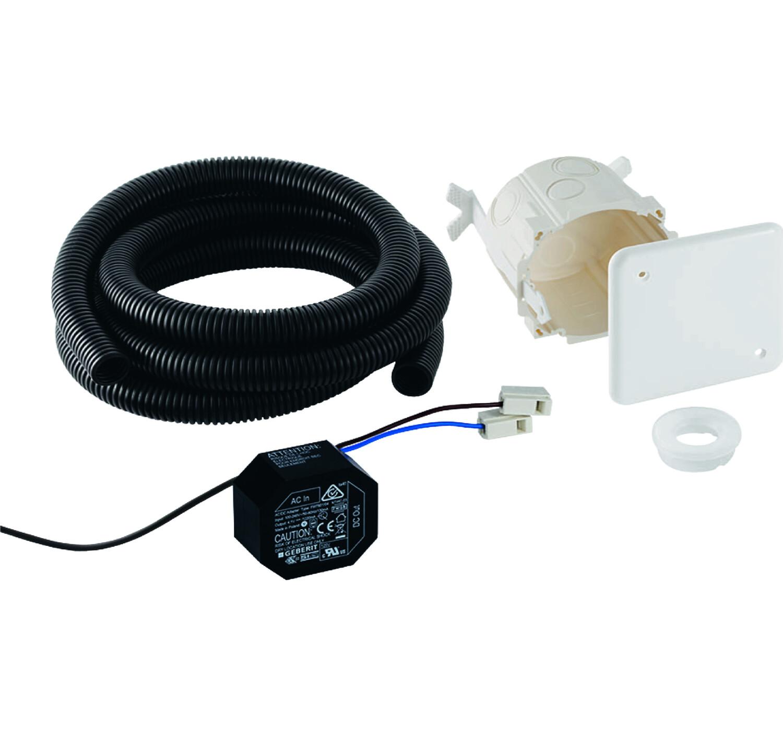 Kit d'encastrement Geberit pour commandes de WC à déclenchement électronique du rinçage