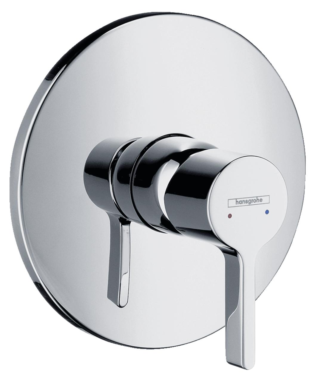 Set de finition pour mitigeur de douche encastré Hansgrohe Metris S