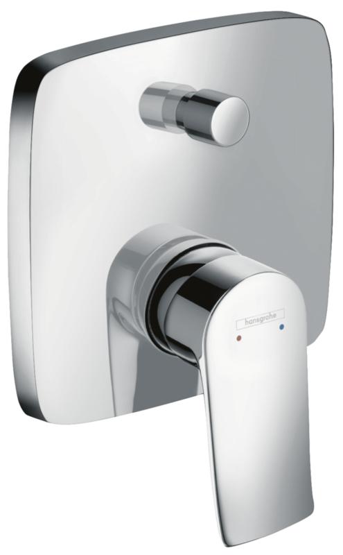 Set de finition pour mitigeur de bain / douche encastré Hansgrohe Metris