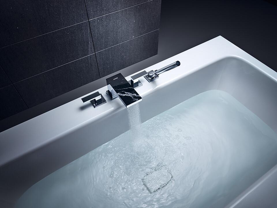 Mélangeur 4 trous pour montage sur bord de baignoire AXOR MyEdition