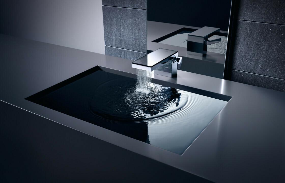 Mitigeur de lavabo AXOR MyEdition 70 avec bonde push-open