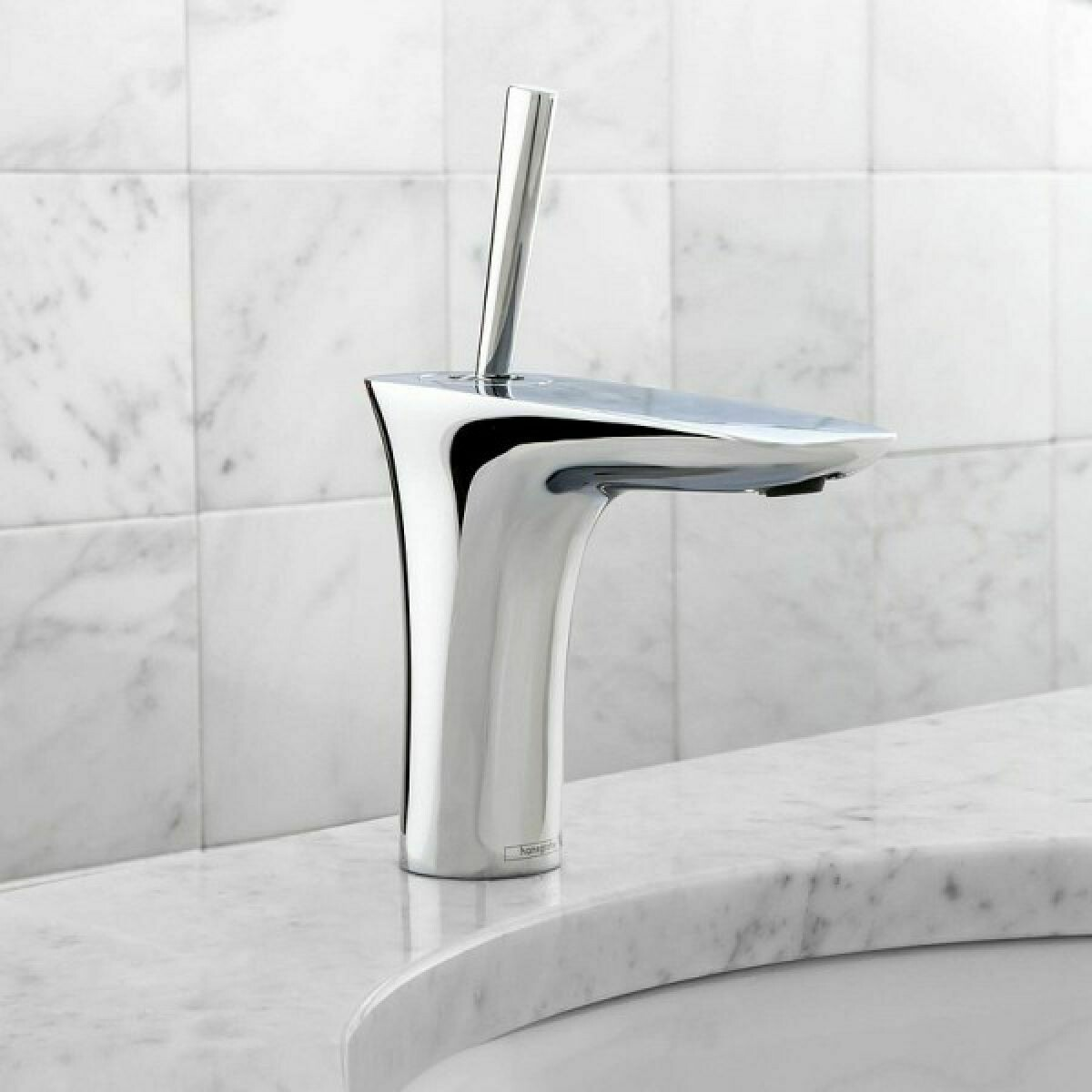 Mitigeur de lavabo Hansgrohe PuraVida 110 avec bonde Push-Open