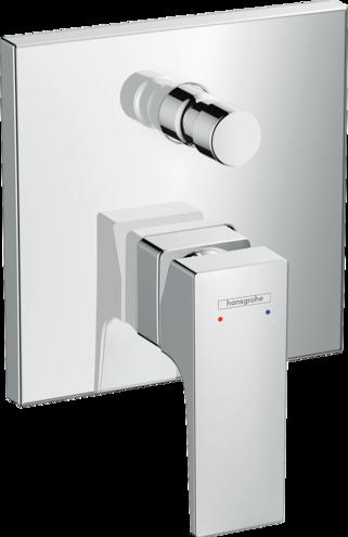 Set de finition pour mitigeur de bain / douche encastré Hansgrohe Metropol