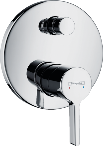 Set de finition pour mitigeur de bain / douche encastré Hansgrohe Metris S