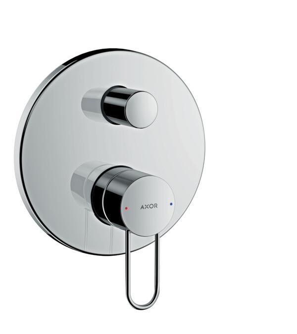 Set de finition AXOR Uno pour mitigeur de bain / douche encastré