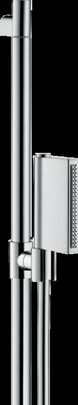 Barre de douche AXOR One avec douchette à main 2 jets, curseur et flexible