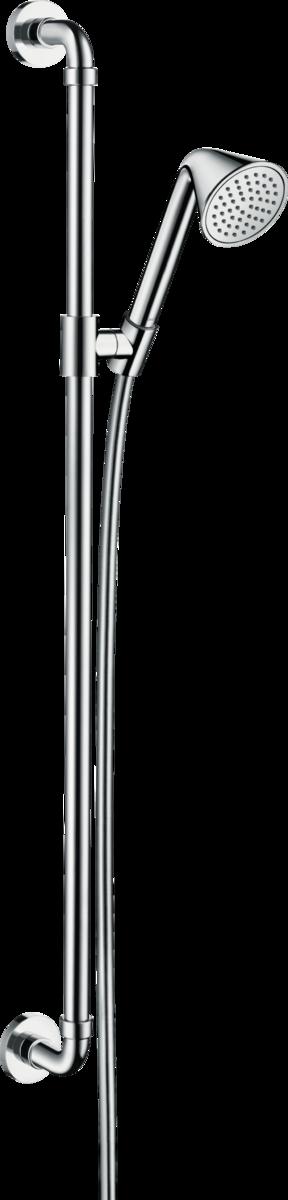 Barre de douche AXOR Showers/Front avec douchette à main 1 jet