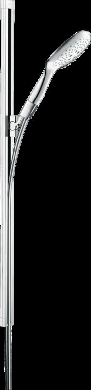Barre de douche Hansgrohe Unica avec douchette à main PuraVida 3 jets et flexible