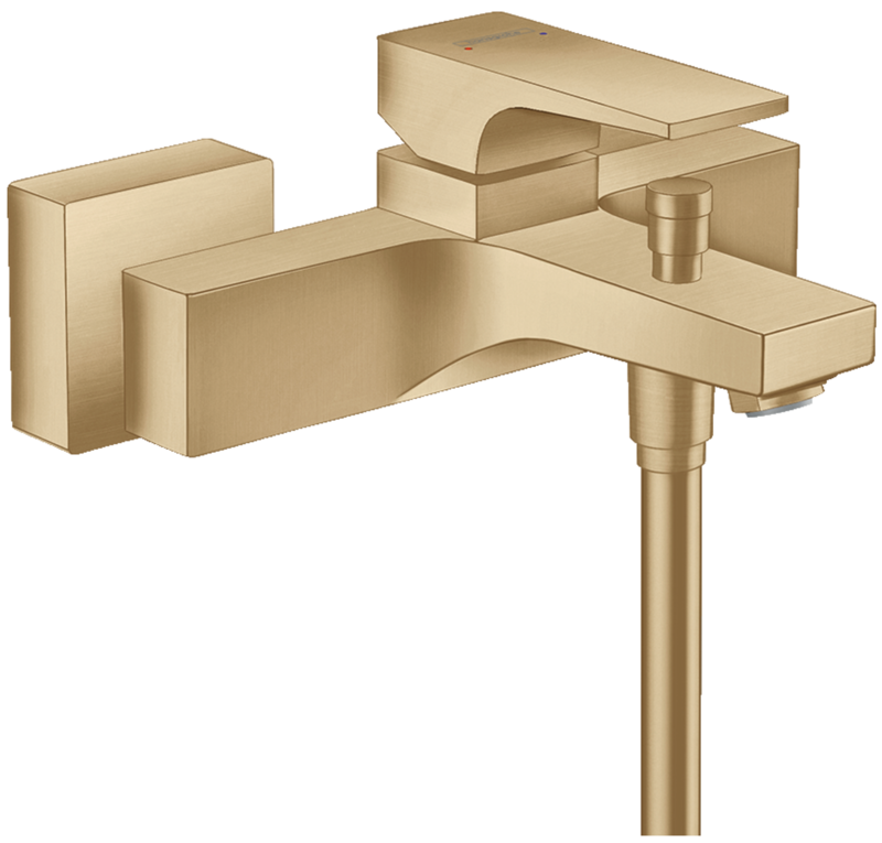 Mitigeur de bain / douche Hansgrohe Metropol en bronze brossé