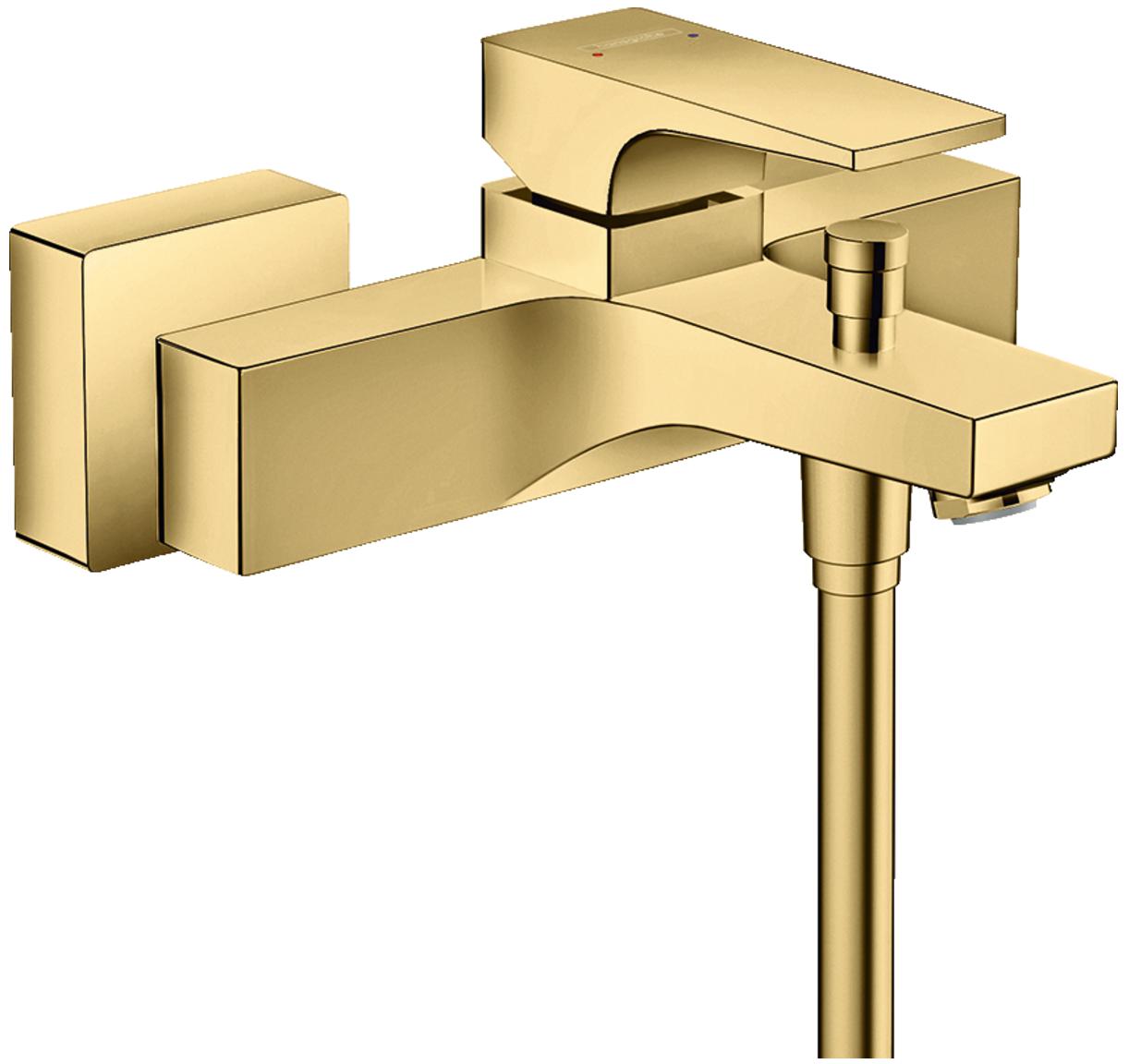 Mitigeur de bain / douche Hansgrohe Metropol aspect doré poli