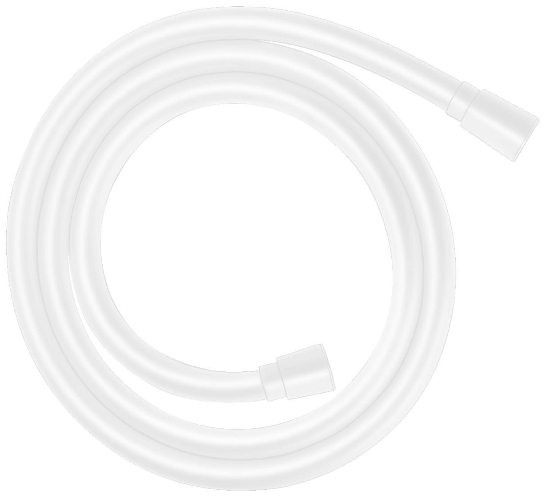 Flexible de douche Hansgrohe Isiflex 1,60 m en blanc mat