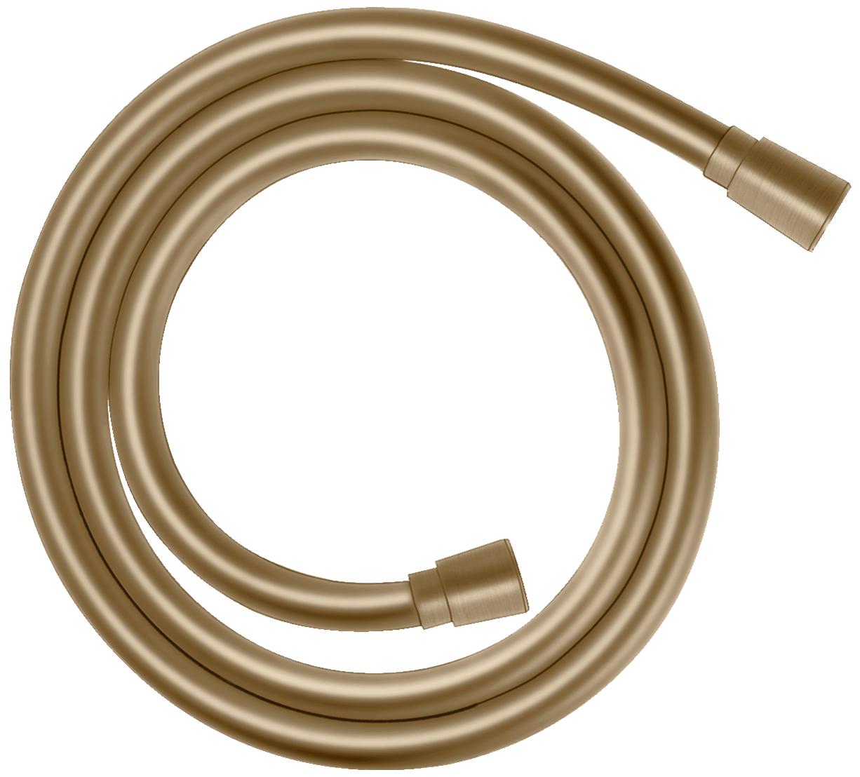 Flexible de douche Hansgrohe Isiflex 1,60 m en bronze brossé