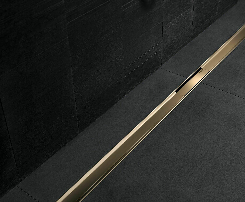 Set de finition Geberit CleanLine80 - Doré - Longueur 30 - 130 cm