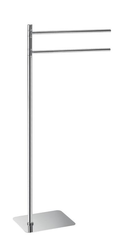 Porte-serviette sur pied ARTU chromé