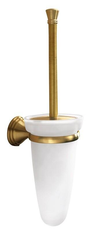 Porte-balai de WC Romance en finition bronze