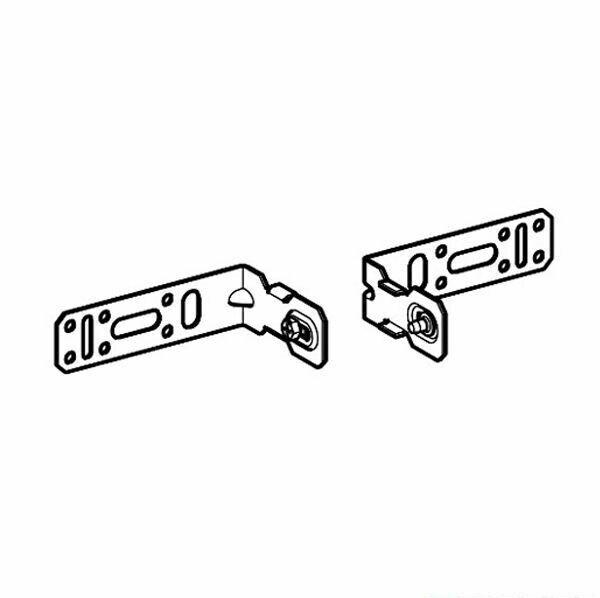 Pack d'équerres de fixation 8/12 cm Geberit (2 pc.)