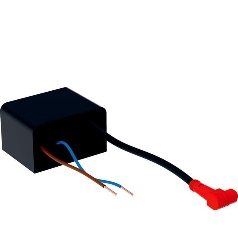 Bloc d'alimentation Geberit 230 V / 12 V / 50 Hz pour module Geberit DuoFresh avec boîtier de raccordement électrique