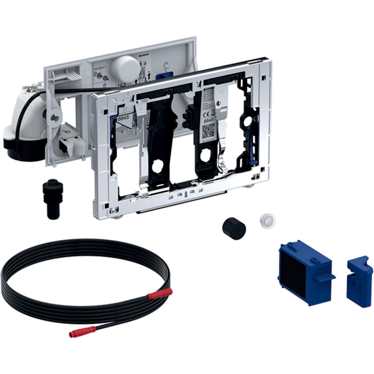 Module Geberit DuoFresh avec déclenchement automatique, pour réservoir à encastrer Sigma 12 cm