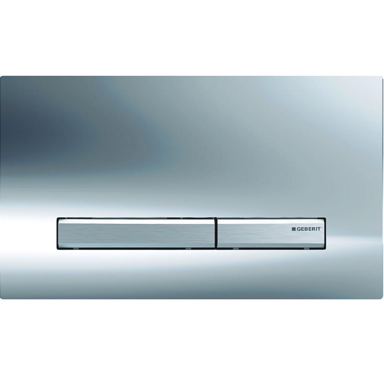 Plaque de déclenchement Geberit Sigma50 / Chromé brillant