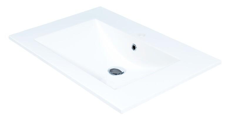 Plan-vasque Comete 72 cm