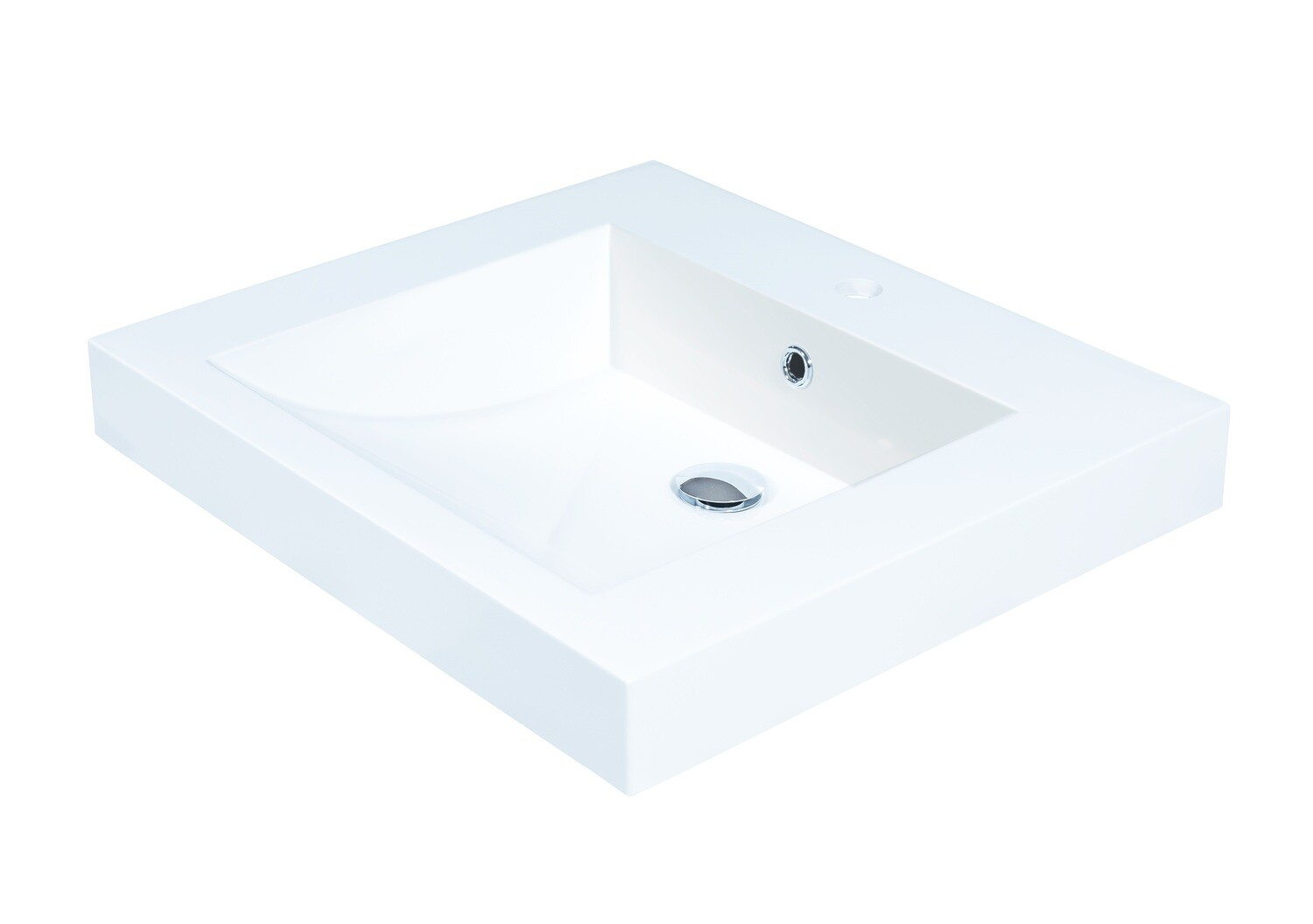 Plan-vasque Spazio 60 cm