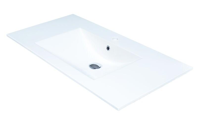 Plan-vasque Comete 96 cm
