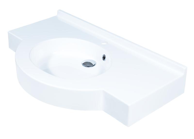 Plan-vasque Riviera 70 ou 90 cm